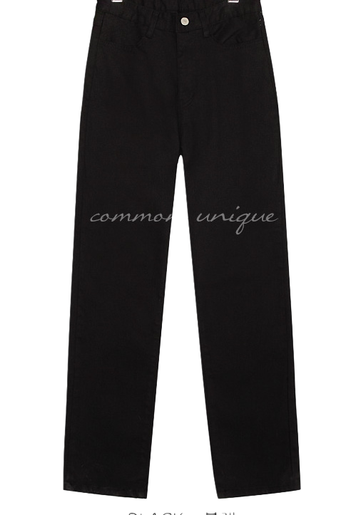 HYDE SEMI BAGGY COTTON PANTS