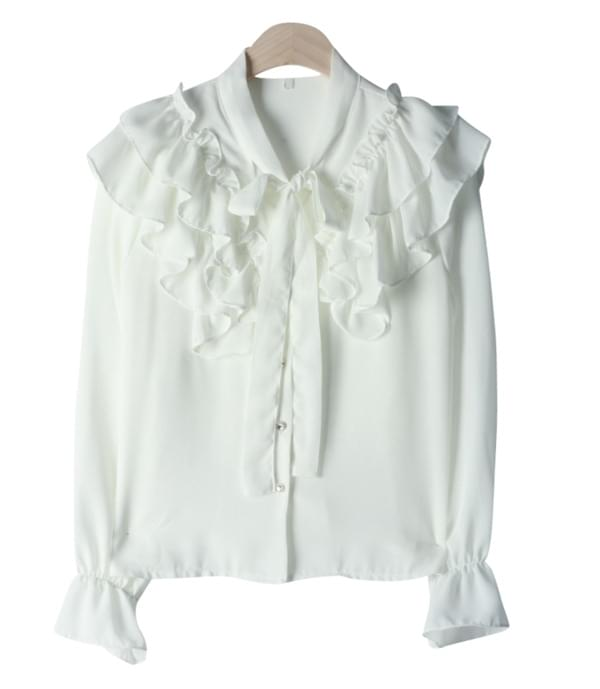 Muse frilly blouse