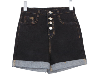 Cheet Button Short P