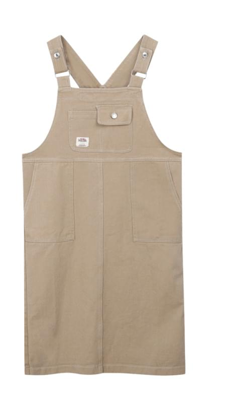 Hari pocket suspenders dress