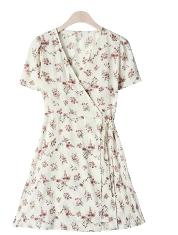 Hakuna Flower V neck dress