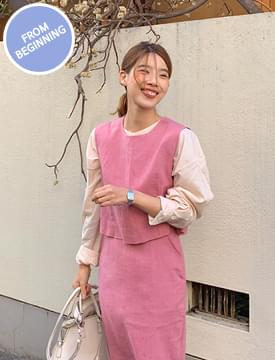 Made_top-206_linen set vest_B (린넨 23%) (size : free)
