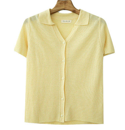 PBP. Cream Tone Short Sleeve Cut