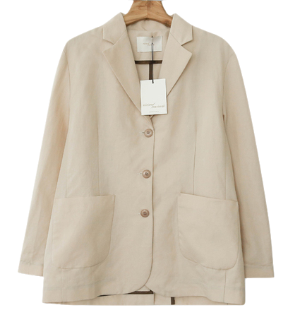 MMMM / Relaxed Fit Summer Lami Jacket