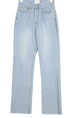 alive light long denim pants