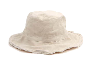 vintage cutting bucket hat