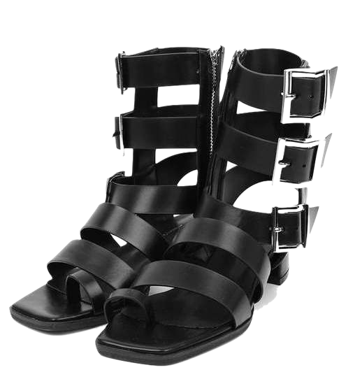 leather gladiator sandals