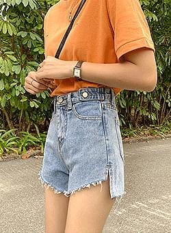 Denim shorts shorts