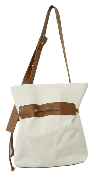 Natural Big Canvas Bag