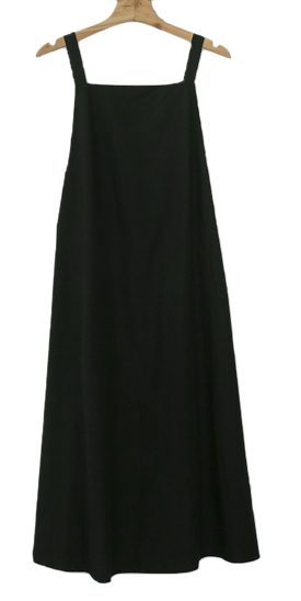 Flare Overalls Long Dress