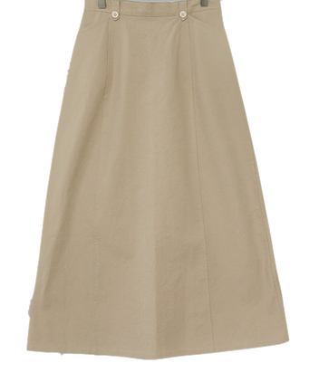 High density flare long skirt