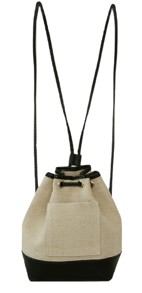 French Two Way Bucket Bag