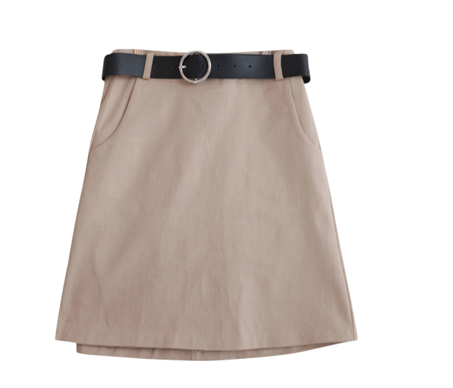 Pocket Ring Belt set skirt