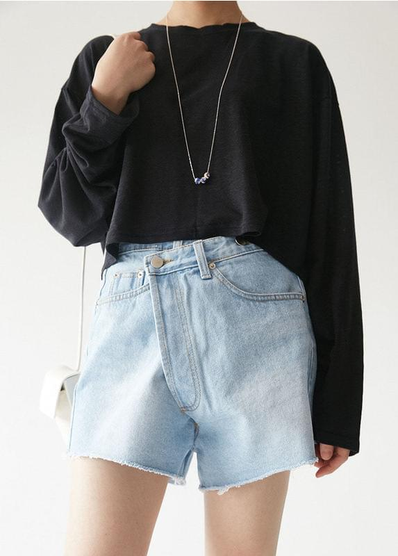 Long Sleeve Linen T-shirt