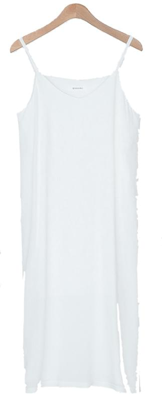 Sleeveless Yoru Long One Piece