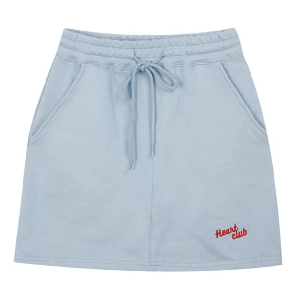 Heart Logo Sweat Skirt