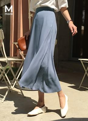 Long bending skirt