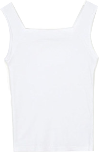 cube basic square sleeveless