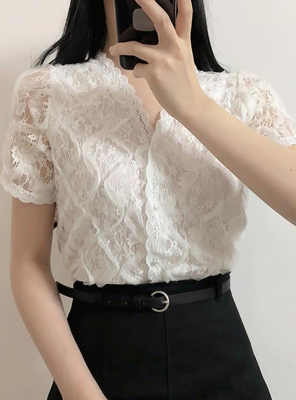 Dial lace blouse