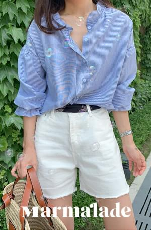 Marmalade ♥. Striped Blue Blouse