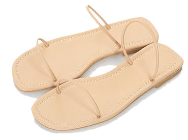 Self-Strap Slippers