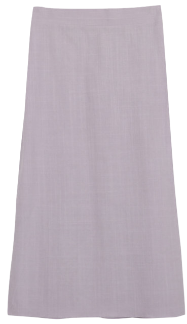 Monet half-bending long skirt