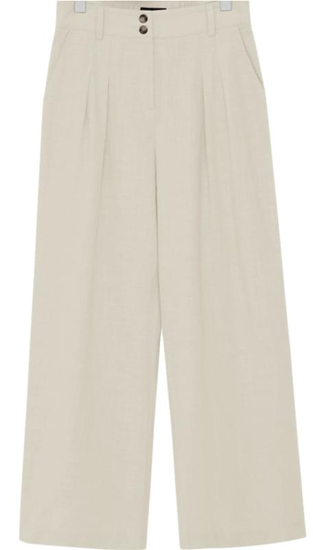 Two button wide pants_B (size : S,M)