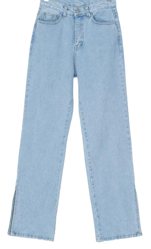 High West Side Open Jeans-pt