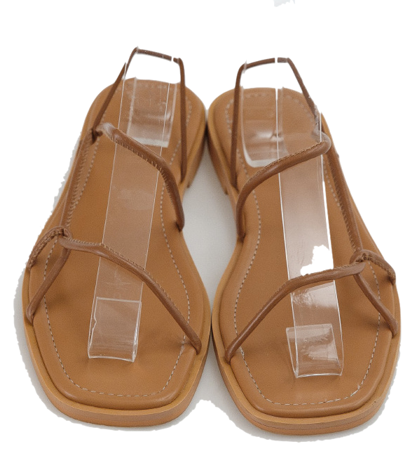 3 color soft strap sandal