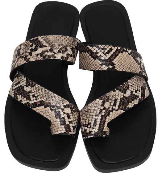 Trunk bold strap slipper_H