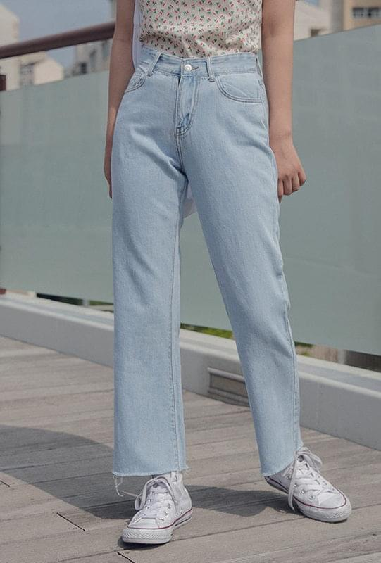 Senior high waist wide pants