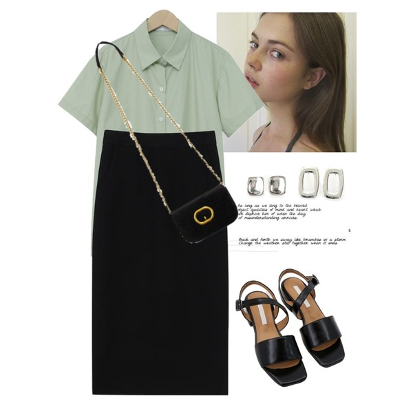 Untitled,ererere,From Beginning Before standard half shirts_H (size : free)등을 매치한 코디