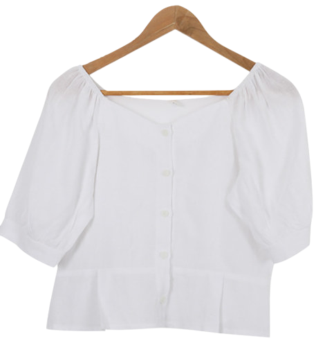 Minnet linen blouse