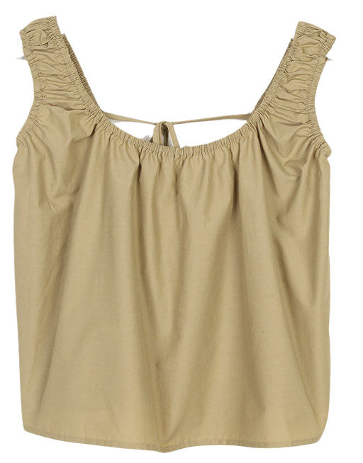 string minimal summer sleeveless