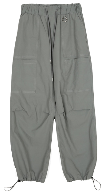 pocket banding jogger pants - men