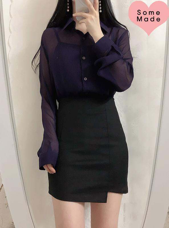 Made in-house ♥ Noodles Shirts blouse