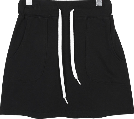 easy outline banding mini skirts (2colors)