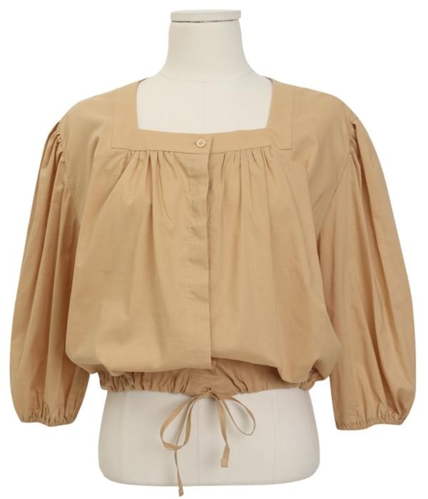 Juliet puff string blouse_J (size : free)