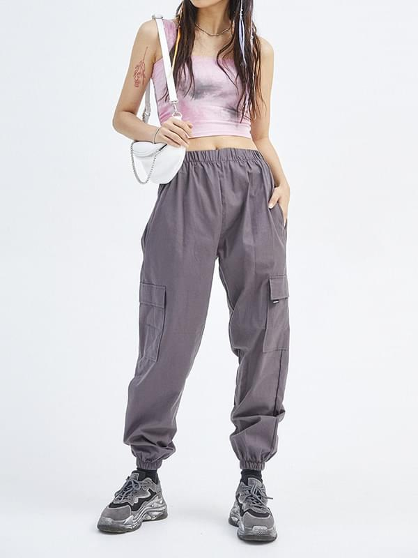 tidy jogger pants (3 color) - woman
