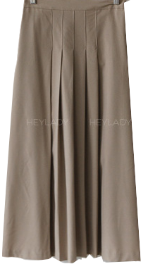 Choux pleated skirt