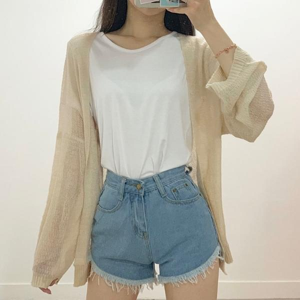 Nerosyshiru summer knit cardigan
