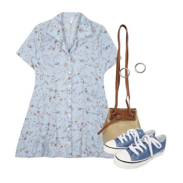 BULLANG GIRL 브리치스니커즈,From Beginning Campus stitch strap bag_J (size : one),openthedoor floral collar button 1/2 ops (3 color) - woman등을 매치한 코디