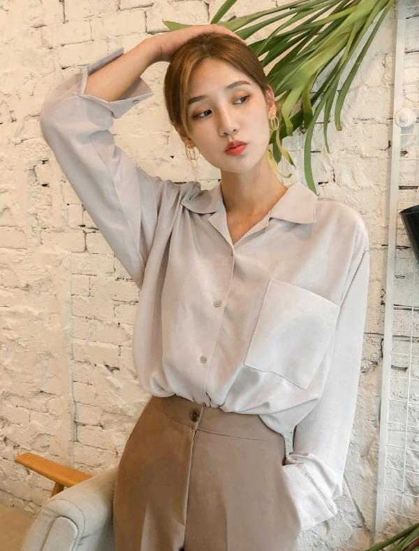 exclusive glossy blouse