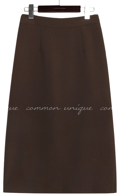 MATIS BANDING SLIT LONG SKIRT