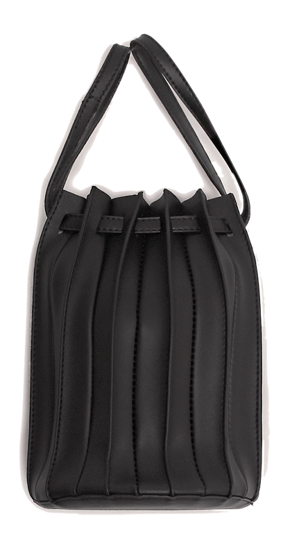 COSTE 2 WAY PLEATS LEATHER BAG