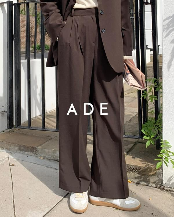 chic mood pintuck slacks