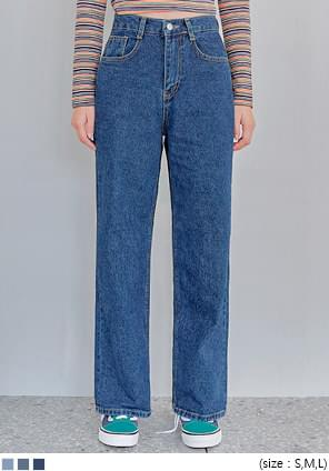 CANMORE WIDE DENIM PANTS