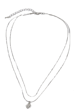 Coin layered necklace_K 項鍊