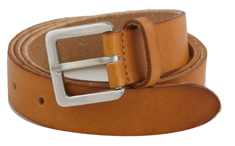 basic square buckle belt