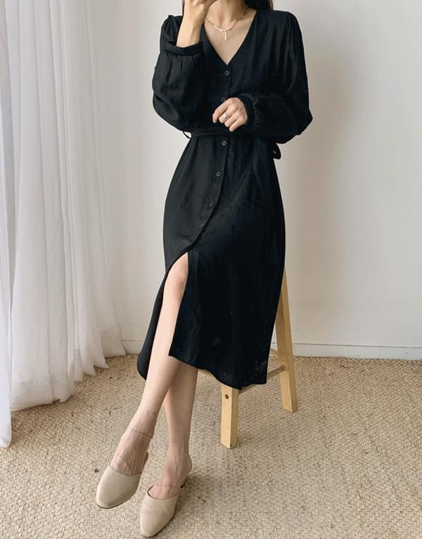 Poten long sleeve dress